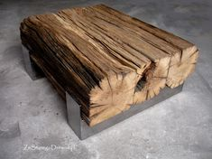 Awsome coffee table. Order it here http://zestaregodrewna.pl/produkt/lawa-debowa/