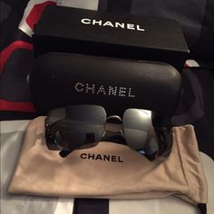 Chanel Sunnies Authentic Chanel Sunglasses, Feel free to make an offer using the offer option. CHANEL Accessories Glasses