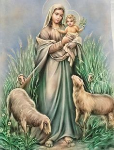 Blessed Mother Mary, Blessed Virgin Mary, Santa Pizza, Bible Timeline, Catholic Pictures, Madonna And Child, Guardian Angels, Angels And Demons, Christmas Images