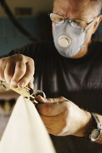 Rich Harbour // shaping a balsa wood surfboard // Harbour Surfboards