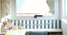 Hola! Buen lunes! Cómo están?     Como verán estoy mostrando muchas cosas que estuve haciendo para mi casa y poco para afuera. Me puse las ... Furniture, Ideas, Refurbished Chairs, Painted Furniture, Salvaged Furniture, Good Monday, Little Cottages, Home Furnishings, Arredamento