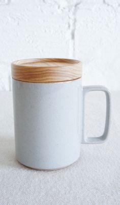 Hasami Porcelain Mug & Lid / Coaster