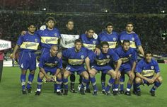 Boca Juniors - Copa Intercontinental 2000 Equipo