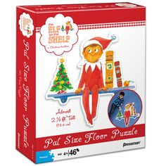 Elf on the Shelf 46 piece Pal Size Puzzle. Almost 2 1/2 feet tall!