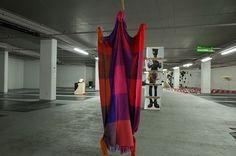 We Could Not Agree art exhibition in Q Park car park, Cavendish Square, London…