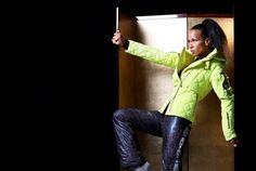 New ski collection Emmegi Nová lyžařská kolekce Emmegi Ski Fashion, Parachute Pants, Skiing, Leather Pants, Clothing, Collection, Ski, Leather Jogger Pants, Outfits