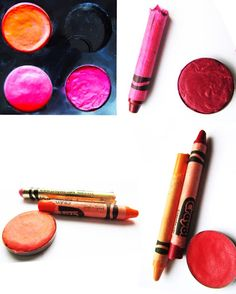 How To Make Lipstick Out of Crayons ~ Forever Fuchsia