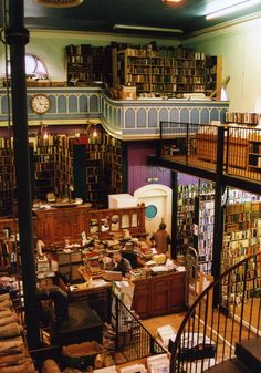 A used book shop in Inverness, Scotland. by ~pennytheloony on deviantART