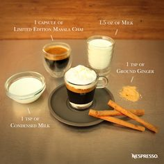 Ultimate Coffee Creations by Nespresso | It'll be love at first taste. Click here to discover a collection of the ultimate espresso based recipes.