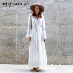 END OF SUMMER SALE!  Come see us this weekend for 40% 50% and 60% off select items. 20% off regular priced merchandise from 1-3PM Friday Saturday Sunday and Monday! All sales final. Excludes this weeks new arrivals. Not valid on previous purchases.  Vintage Lace Maxi $68. NOW 40% off--$40.80. In-Store only.  Not Your Basic Buckle Sandal $42 now 40% off $25.20. In-store only.  Ultra Stiff Wool Felt Panama $48. online  in-store. Drop It On Point Necklace $56. online  in store. Handmade in USA…