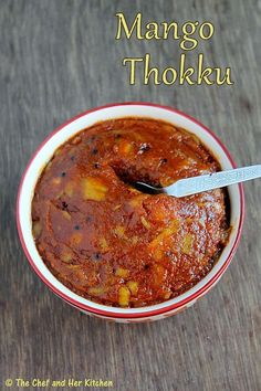 As promised in my Mango Pickle Post last week,I am posting the Mango Thokku recipe which is my favorite pickle from childhood. Indian Pickle Recipe, Pickle Mango Recipe, Indian Food Recipes, Ethnic Recipes, African Recipes, Mango Recipes, Salad Recipes, Vegetarian Snacks, South Indian Food