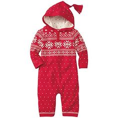 Hanna Andersson Baby Snowy Sweden Sweater Romper, Size 70 (9-18 Months), Apple Red/Snow Hanna Andersson  On sale for $39 http://www.amazon.com/dp/B00NT4QH56/ref=cm_sw_r_pi_dp_j29Dub08H10N1