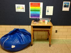 "We uses Zones of Regulation curriculum at our school and this ""self-monitoring center"" would be a great tie-in."