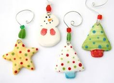 polymer clay christmas ideas - Google Search