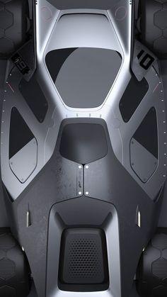 2015-2017 | Batmobile - NIGHT SNllKR | Design by Christoph Prößler (Land Rover Advanced Design Team) | Source