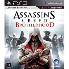 Jogo PS3 Assassin s Creed Brotherhood
