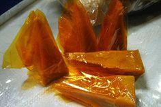 YEMA - sweet candy made of egg yolks, condensed milk, sugar