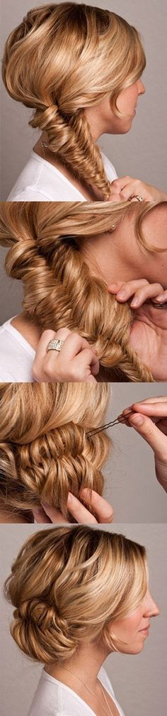 This would be pretty for anyone that wears their hair up :)