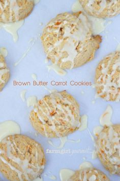 Brown Butter Carrot Cookies make them even better with #Plugra Butter http://www.farmgirlgourmet.com/2013/04/brown-butter-carrot-cookies.html