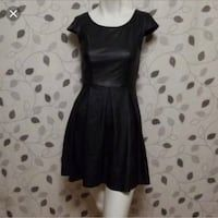 71debb5bcb6 Used WantMyLook Faux Leather Black Dress Size S for sale in New Hyde Park -  letgo
