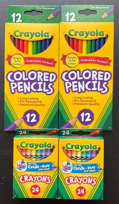 Give Away Free Stuff, Crayola Colored Pencils, Bold Colors, School Supplies, Room, Hipster Stuff, School Stuff, Vivid Colors, Classroom Supplies
