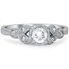 The Cate Ring #BrilliantEarth #Vintage