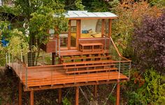 modern treehouse by Baumraum