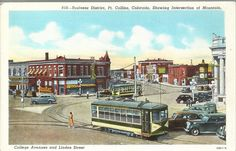 PC Postcard Spencer Heights Trading PostCLASSIC Fort Collins Co 168