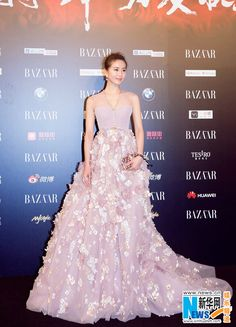 Liu Shishi at Bazaar Charity Night | China Entertainment News