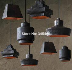 創造的な照明- 産業スクレイプによる金属ペンダントランプ銅/iron/黒い色カフェバーレストランのランプキッチンペンダントライト(China (Mainland))