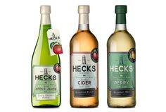 Creative Agency: Kingdom & Sparrow  Project Type: Produced, Commercial Work  Client: Hecks Cider  Location: UK  Packaging Contents: Cider ...