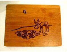 A very hungry moose and a deserving porcupine. Wood Burning from #darbysmart