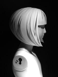 paper wigs - Google Search