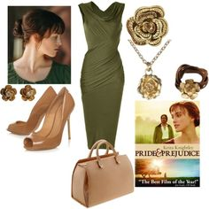 pride and prejudice, created by cristina1207 on Polyvore