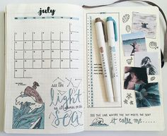 bujo bullet journal inspiration and weekly spreads Bullet Journal Monthly Spread, Bullet Journal 2019, Bullet Journal Hacks, Bullet Journal Notebook, Bullet Journal Ideas Pages, Bullet Journal Layout, My Journal, Bullet Journal Inspiration, Filofax