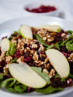 Vegan Pomegranate and Arugula Salad
