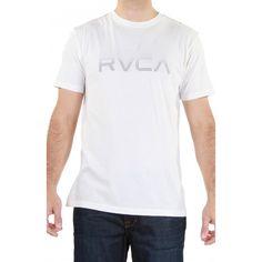 $27 RVCA Dot Matrix Tee in Vintage White: http://urbanlaundry.com/shop/rvca-dot-matrix-tee-in-vintage-white.html