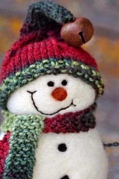 ♥ snowmen!