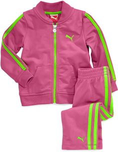 PUMA Girls New Track Outfit Set size 12 months Nwt