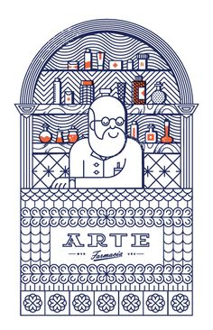 Farmacia Arte by Mundial , via Behance