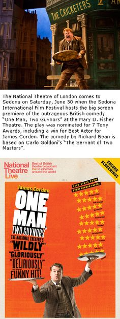 National Theatre of London is coming to Sedona June 30