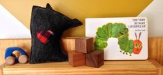 The Mini Minne Love Pillow by mplsmomma on Etsy #etsy #flannel #felt #minnesota #minneapolis #baby #toy #plaid #handmade Minneapolis, Minnesota, Flannel, Dinosaur Stuffed Animal, Flannels