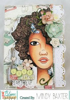 Bloom Girl Design Team: Altered Bloom Book Box by Mindy!