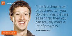 MZ on strategy and progress. #progress #strategy #motivational #quotes #zuckerberg