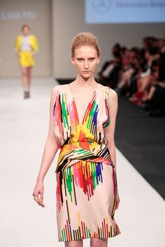 love the color combo. Lisa Ho S/S '13