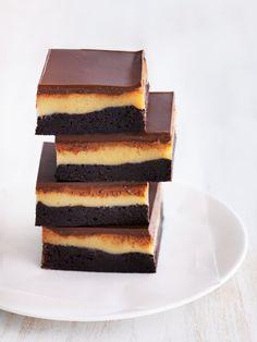 Caramel Brownie Slice | Donna Hay