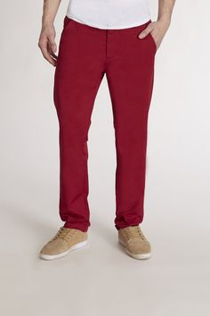 $78, Burgundy Chinos: Wesc Eddy Chino. Sold by JackThreads. Click for more info: https://lookastic.com/men/shop_items/28650/redirect