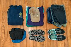 The women's packing guide for Ecuador.