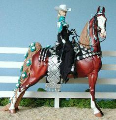 Saddlebred parade horse model