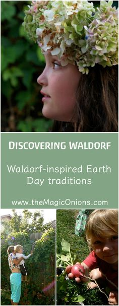 Waldorf inspired Earth Day Traditions :: Discovering Waldorf Educations :: www.theMagicOnions.com
